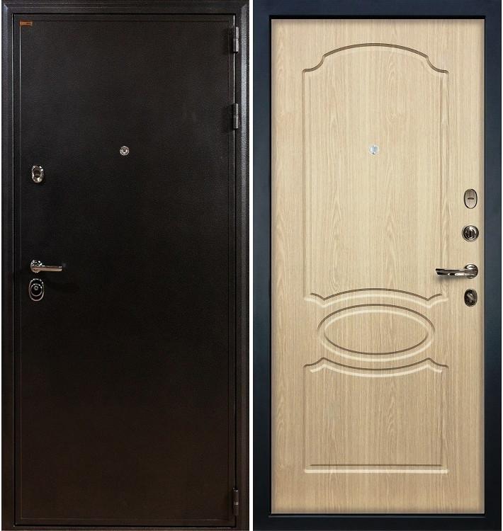Входная дверь Колизей / Беленый дуб (панель №14)