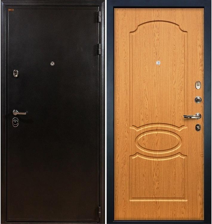 Входная дверь Колизей / Дуб натуральный (панель №15)