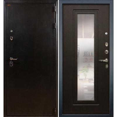 Входная дверь Лекс Колизей / с зеркалом Венге (панель №22)