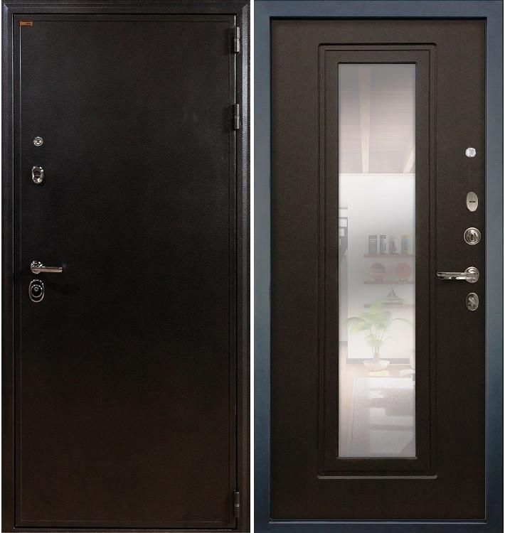 Входная дверь Колизей / с зеркалом Венге (панель №22)