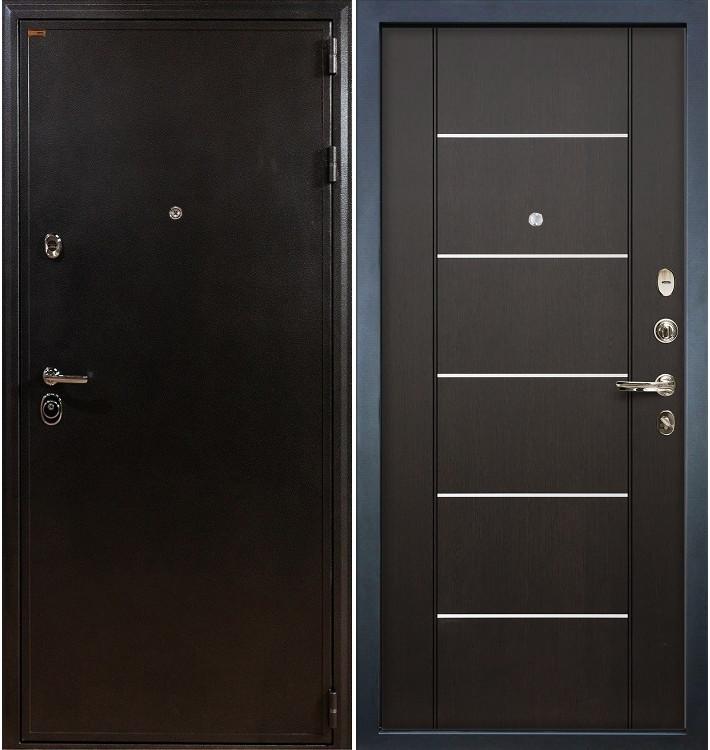 Входная дверь Колизей / Венге (панель №24)