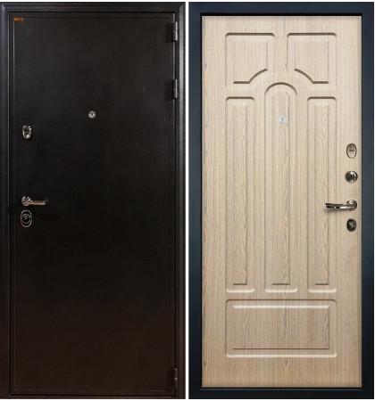 Входная дверь Колизей / Беленый дуб (панель №25)