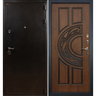 Входная дверь Лекс Колизей / Голден патина (панель №27)
