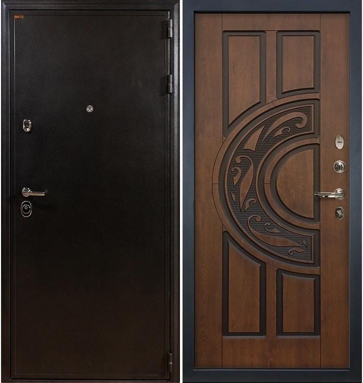 Входная дверь Колизей / Голден патина (панель №27)