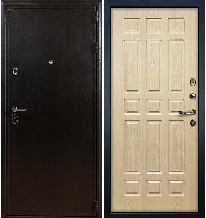 Входная дверь Колизей / Беленый дуб (панель №28)
