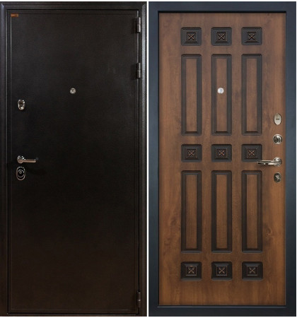 Входная дверь Колизей / Голден патина (панель №33)