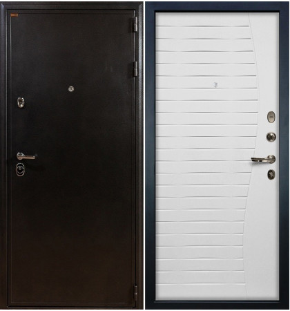 Входная дверь Колизей / Волна Белый ясень (панель №36)