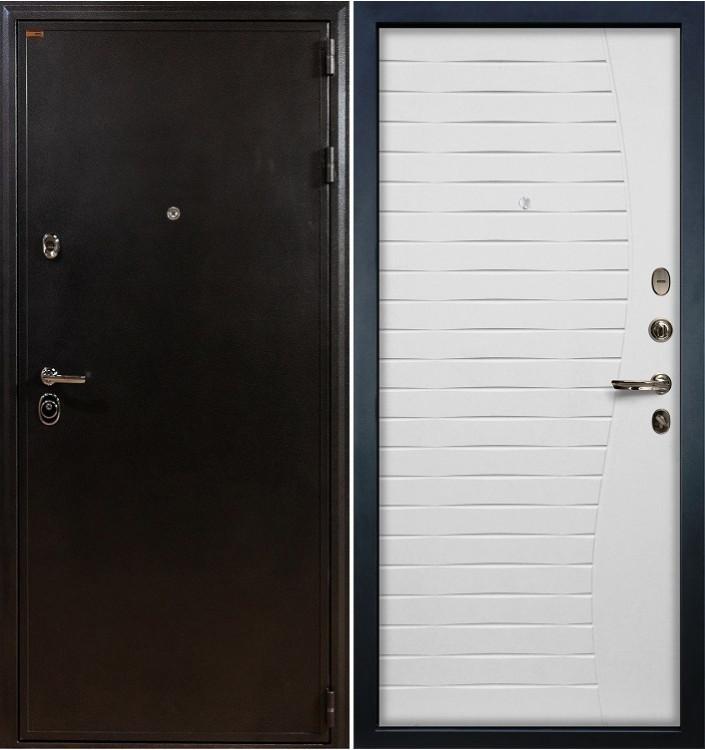 Входная дверь Лекс Колизей / Волна Белый ясень (панель №37)