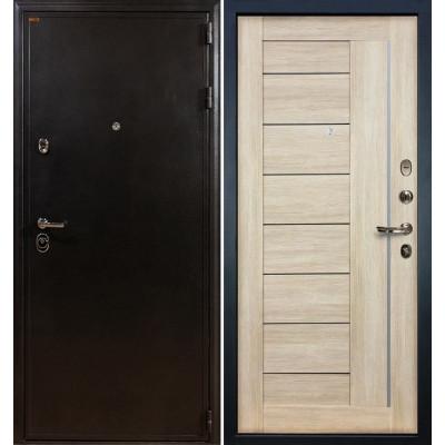 Входная дверь Лекс Колизей / Верджиния Кремовый ясень (панель №40)