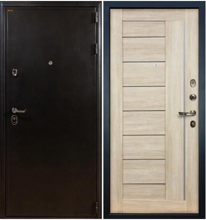 Входная дверь Колизей / Верджиния Кремовый ясень (панель №40)