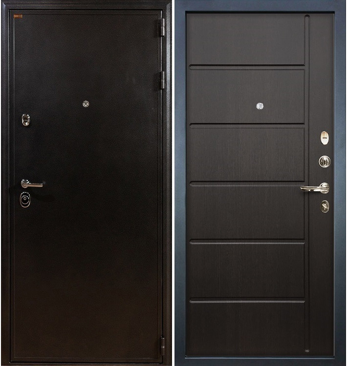 Входная дверь Колизей / Венге (панель №41)