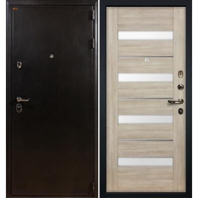 Входная дверь Лекс Колизей / Сицилио Ясень кремовый (панель №48)