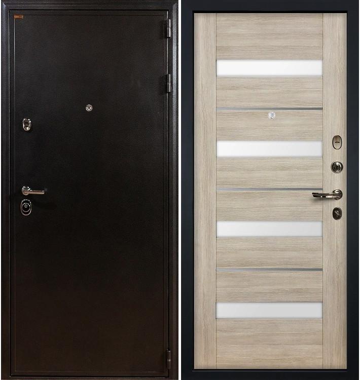 Входная дверь Колизей / Сицилио Ясень кремовый (панель №48)
