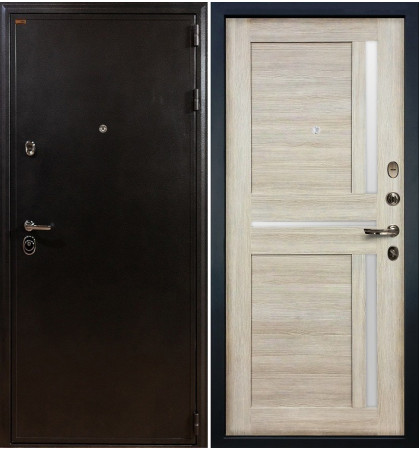 Входная дверь Колизей / Баджио Кремовый ясень (панель №49)