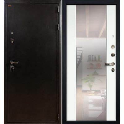 Входная дверь Лекс Колизей / Стиль Белый экошпон (панель №61)