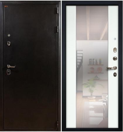 Входная дверь Колизей / Стиль Белый экошпон (панель №61)