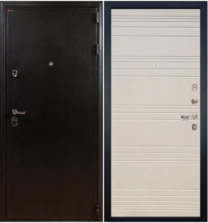 Входная дверь Колизей / Дуб фактурный крем (панель №63)