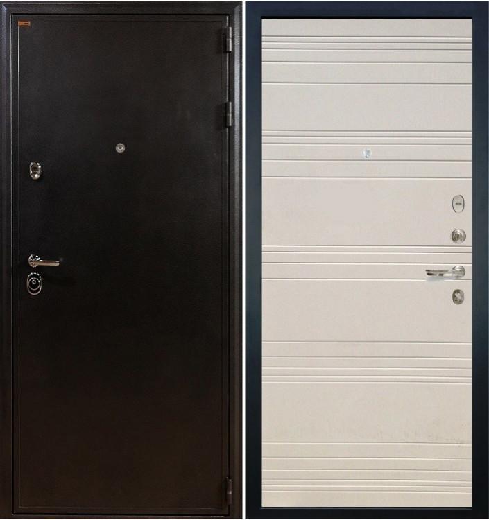 Входная дверь Лекс Колизей / Дуб фактурный крем (панель №63)