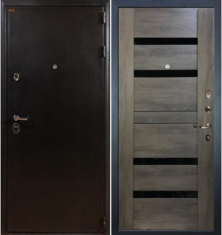 Входная дверь Колизей / Неро Графит шале (панель №65)