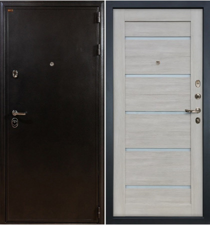 Входная дверь Колизей / Клеопатра Ясень кремовый (панель №66)