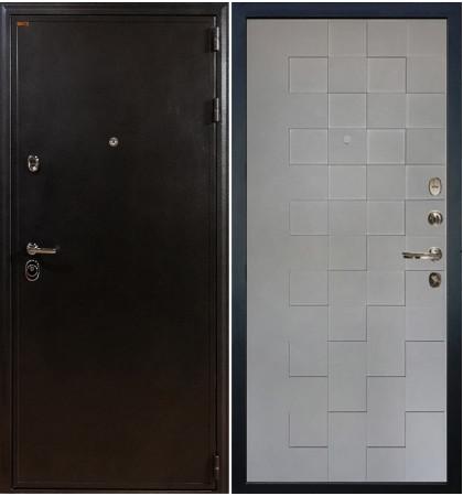 Входная дверь Колизей / Квадро Графит софт (панель №72)