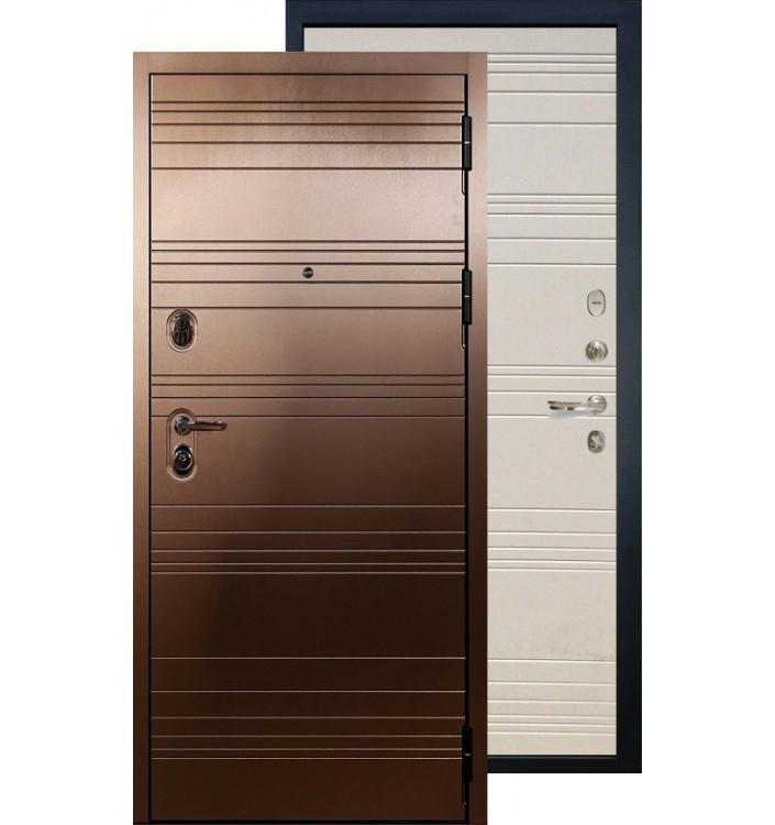 Входная дверь Лекс Легион Ясень бронза (Дуб фактурный)