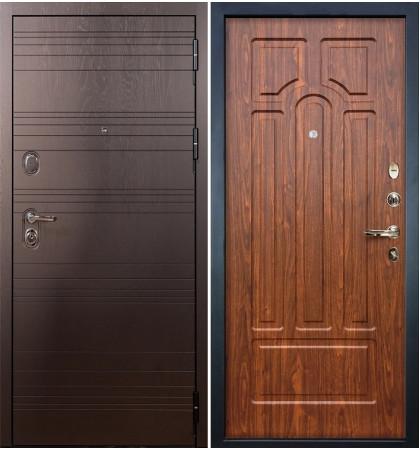 Входная дверь Легион Ясень шоколадный / Береза мореная (панель №26)