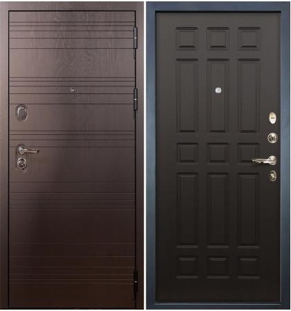 Входная дверь Легион Ясень шоколадный / Венге (панель №29)