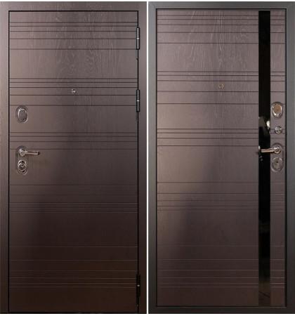 Входная дверь Легион Ясень шоколадный / Ясень шоколадный (панель №31)