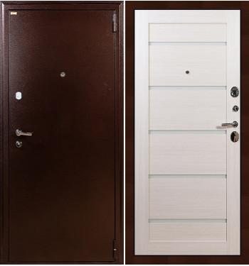 Входная дверь Лекс 1А / Клеопатра Беленый дуб (панель №58)