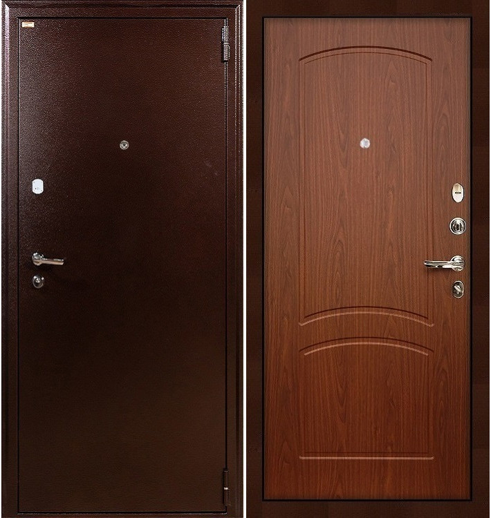 Входная дверь Лекс 1А / Береза мореная (панель №11)