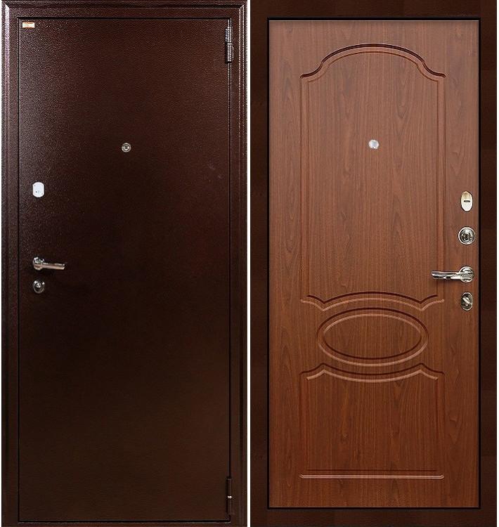 Входная дверь Лекс 1А / Береза мореная (панель №12)