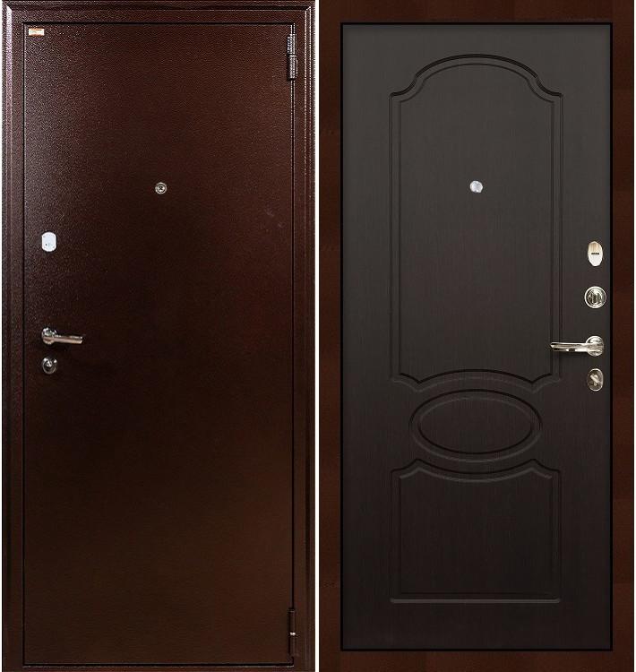 Входная дверь Лекс 1А / Венге (панель №13)