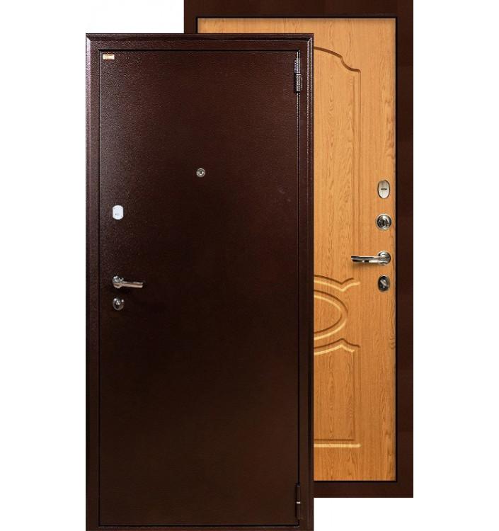 Входная дверь Лекс 1А ФЛ-15 (Дуб натуральный)