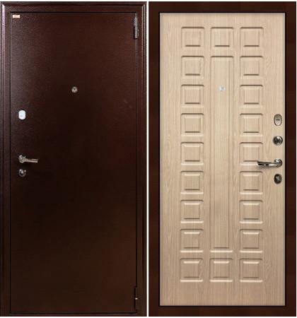 Входная дверь Лекс 1А / Беленый дуб (панель №20)