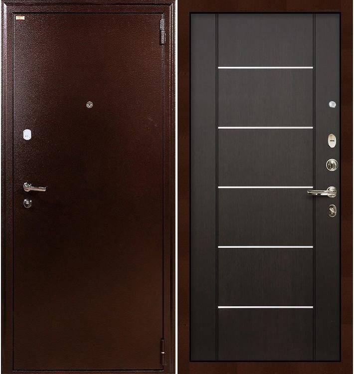 Входная дверь Лекс 1А / Венге (панель №24)