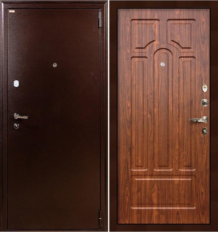 Входная дверь Лекс 1А / Береза мореная (панель №26)