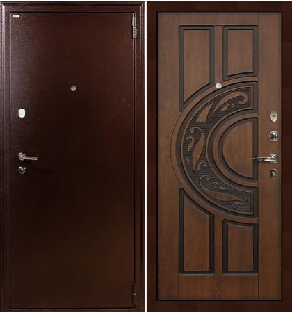 Входная дверь Лекс 1А / Голден патина (панель №27)