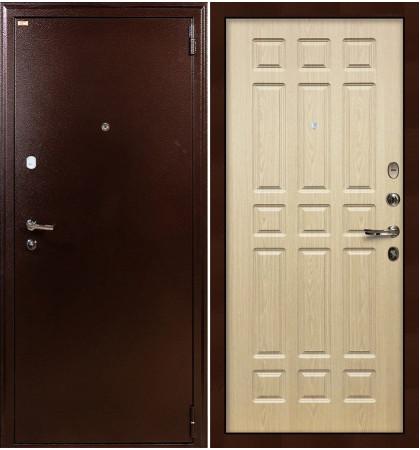 Входная дверь Лекс 1А / Беленый дуб (панель №28)