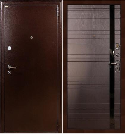 Входная дверь Лекс 1А / Ясень шоколадный (панель №31)