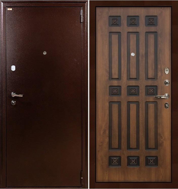 Входная дверь Лекс 1А / Голден патина (панель №33)