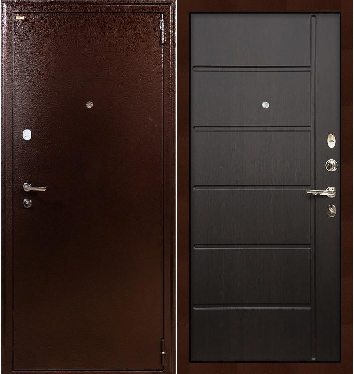 Входная дверь Лекс 1А / Венге (панель №41)