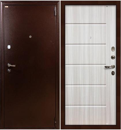 Входная дверь Лекс 1А / Сандал белый (панель №42)