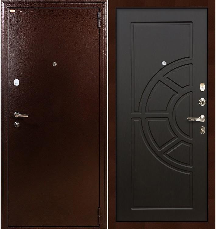 Входная дверь Лекс 1А / Венге (панель №43)