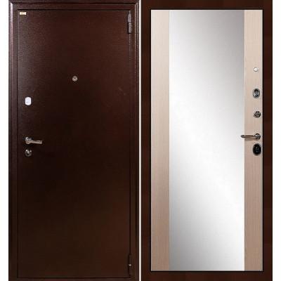 Входная дверь Лекс 1А / Стиль Беленый дуб (панель №45)