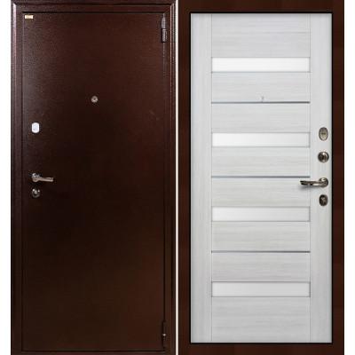 Входная дверь Лекс 1А / Сицилио Беленый дуб (панель №46)