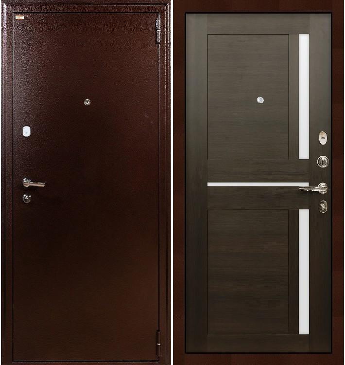 Входная дверь Лекс 1А / Баджио Венге (панель №50)