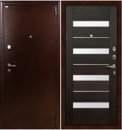 Входная дверь Лекс 1А / Сицилио Венге (панель №51)