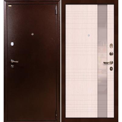 Входная дверь Лекс 1А / Новита Беленый дуб (панель №52)
