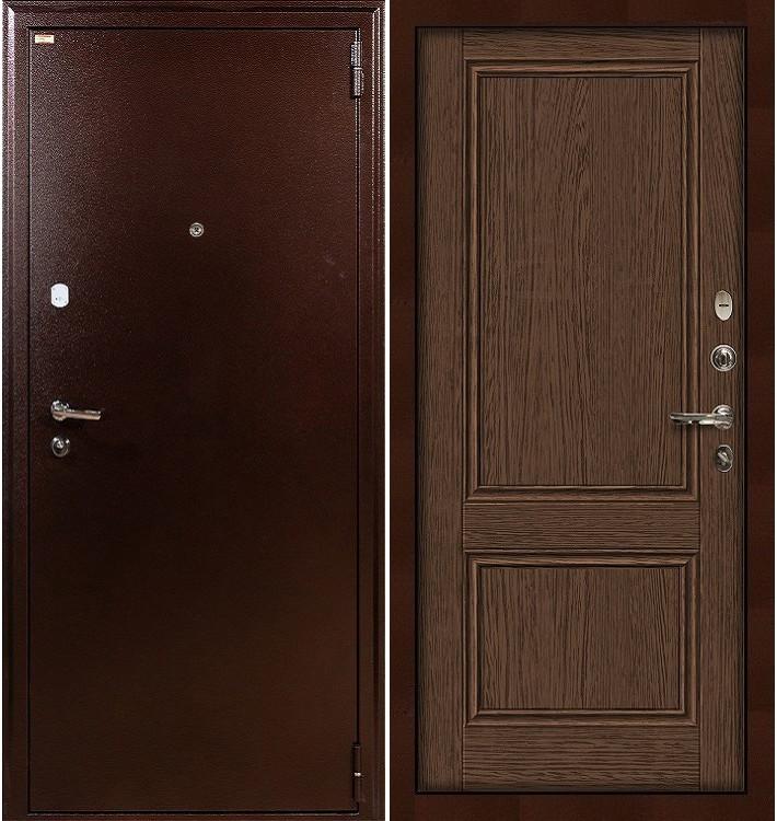 Входная дверь Лекс 1А / Энигма Орех (панель №57)